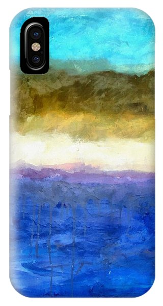 Shoreline Abstract IPhone Case