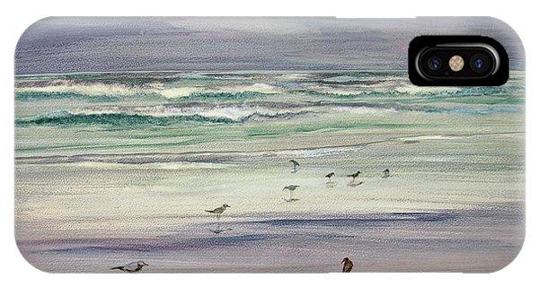 Shoreline Birds IIi IPhone Case