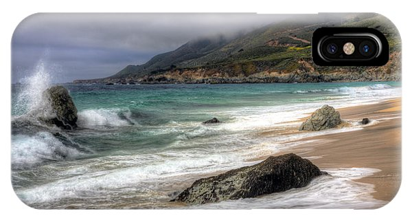 Shores Of Big Sur IPhone Case