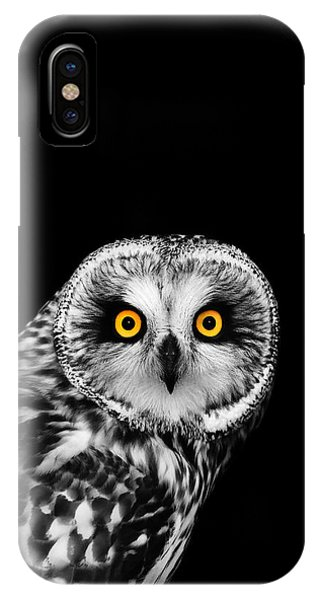 Short-eared Owl IPhone Case