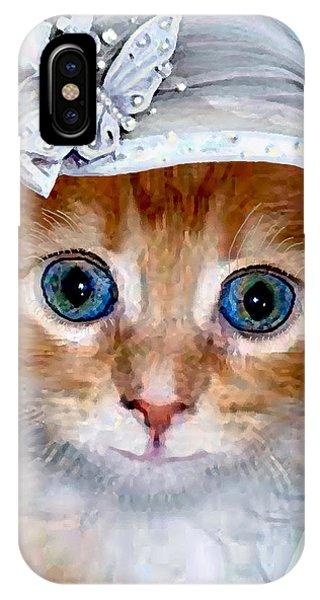 Shotgun Bride  Cats In Hats IPhone Case