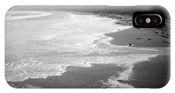 Winter At Wickaninnish Beach IPhone Case