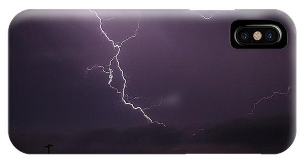 Shredded Sky IPhone Case