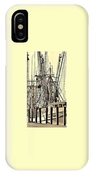 Shrimp Boat IPhone Case