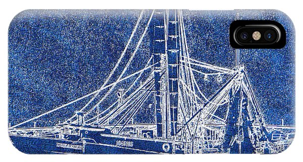 Shrimp Boat - Dock - Coastal Dreaming IPhone Case