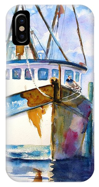 Shrimp Boat Isra IPhone Case