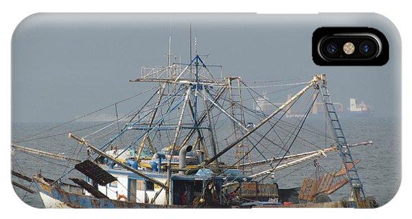 Shrimp Boats IPhone Case