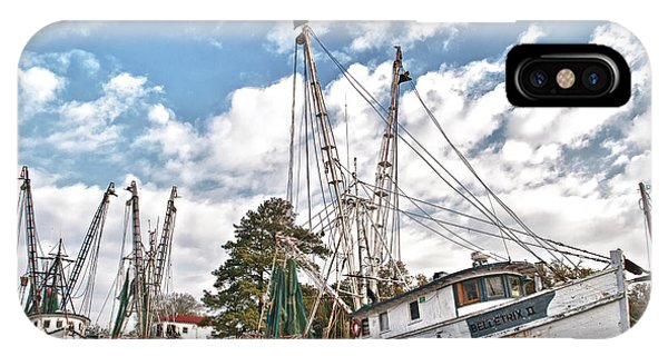 Shrimpers At Rest IPhone Case