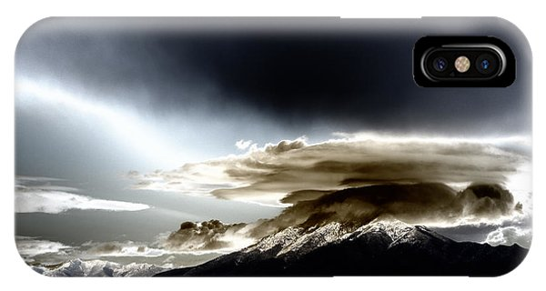 Shrouded Oquirrh IPhone Case