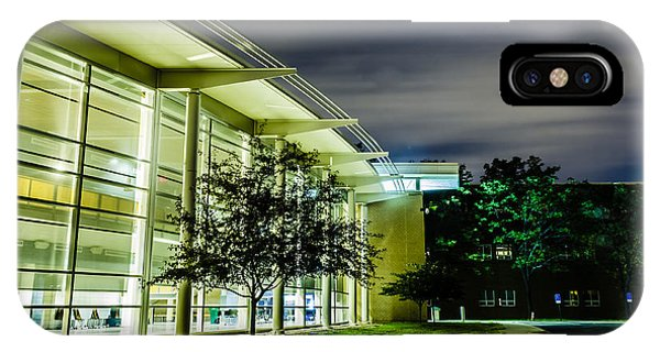 Shs Lower Cafeteria At Night IPhone Case