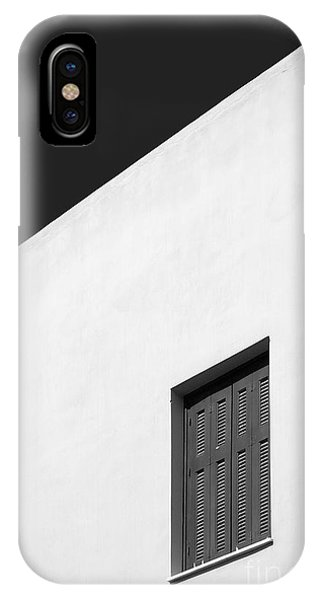 Greece iPhone Case - Shuttered Window by Rod McLean