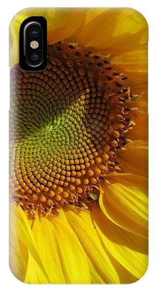 Shy Sunflower Phone Case by Laura Corebello