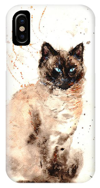Siamese Beauty IPhone Case