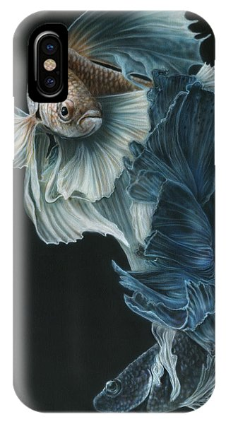 Siamese Fighting Fish Three IPhone Case