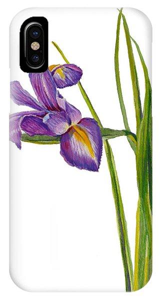 Siberian Iris - Iris Sibirica IPhone Case