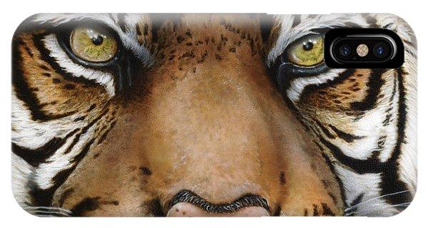 Siberian Tiger Closeup IPhone Case