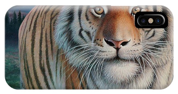 Zoofari Poster The Siberian Tiger IPhone Case