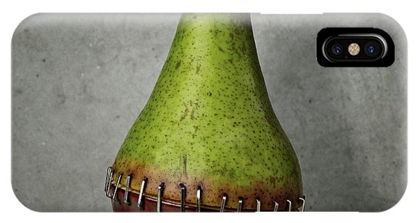 Pear iPhone Case - Side Effects Of Humanity 2-02 by Mister Solo