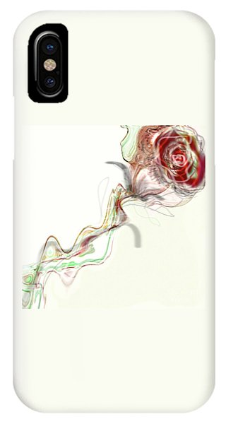 Side Rose IPhone Case