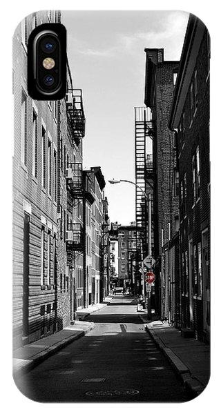 Side Street On The North End Phone Case by Nadalyn Larsen