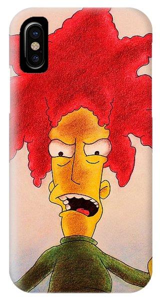 Sideshow Bob IPhone Case