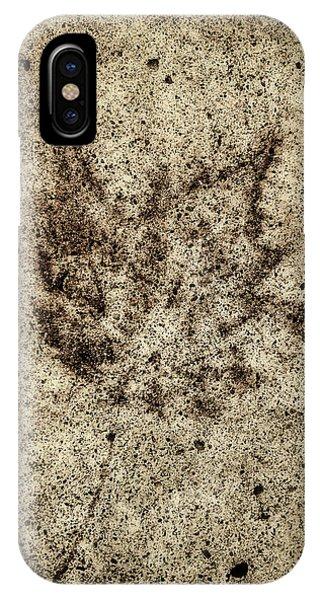 Sidewalk Imprint IPhone Case