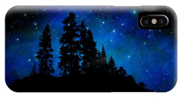 Sierra Foothills Wall Mural IPhone Case