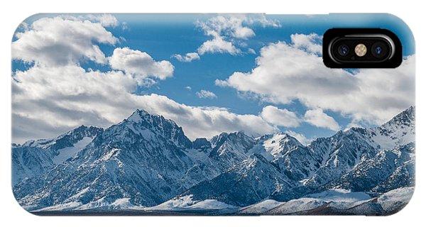Sierra Nevadas 2.3188 IPhone Case