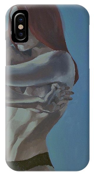 IPhone Case featuring the painting Sierra by Stephen Panoushek