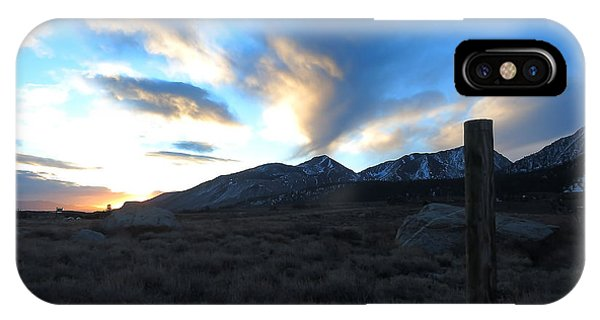 Sierra Sunrise IPhone Case