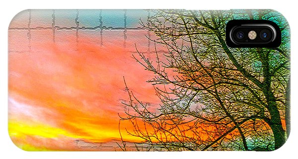 Sierra Sunset Cubed IPhone Case