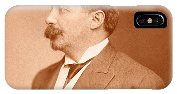 Controversial iPhone Case - Sigard Knopf by National Library Of Medicine
