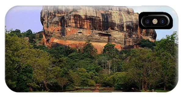 Sigiriya Fortress Phone Case by Sanjeewa Marasinghe