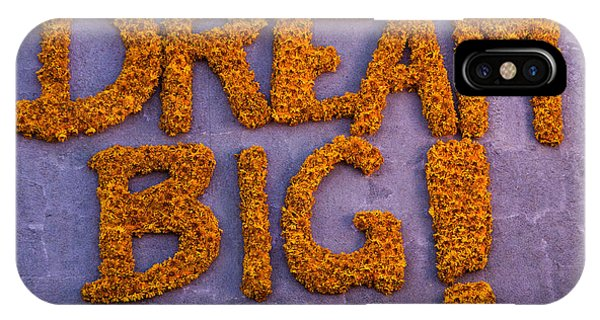 Sign Dream Big IPhone Case