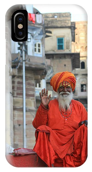 Indian Man IPhone Case