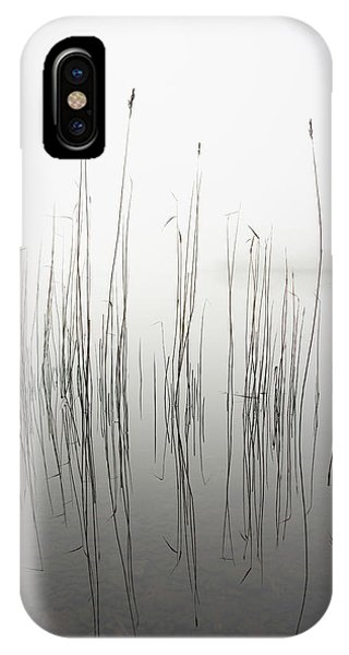 Clear iPhone Case - Silence by David Ahern