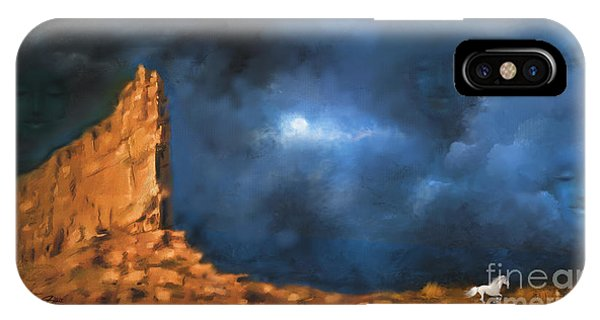 Silence Of The Night IPhone Case
