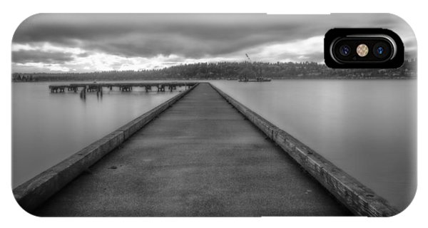 Silent Dock IPhone Case