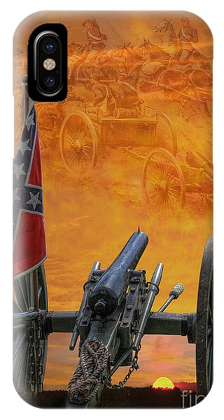 Silent Fields Of Gettysburg IPhone Case