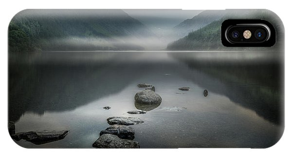 Lake iPhone X Case - Silent Valley by David Ahern