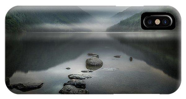 Zen iPhone Case - Silent Valley by David Ahern