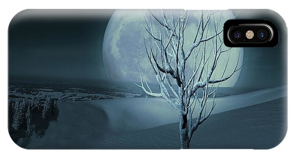 Silent Winter Evening  IPhone Case