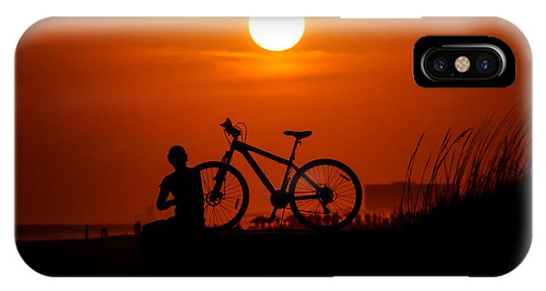 IPhone Case featuring the photograph Silhouette by Robert L Jackson