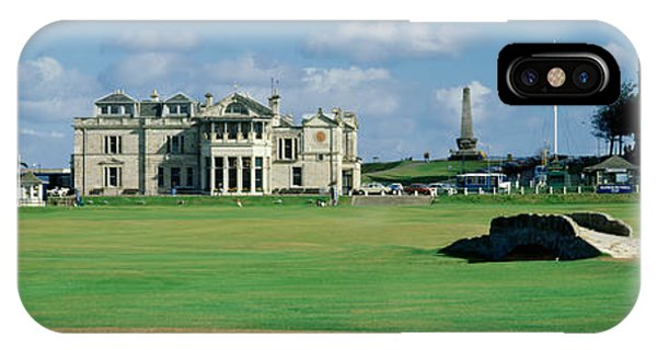 Silican Bridge Royal Golf Club St IPhone Case