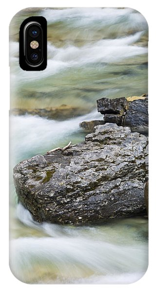 Silk And Stone Johnston Canyon IPhone Case