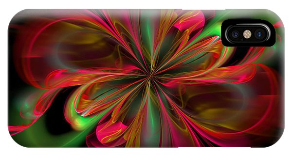 Silk Butterfly Abstract IPhone Case