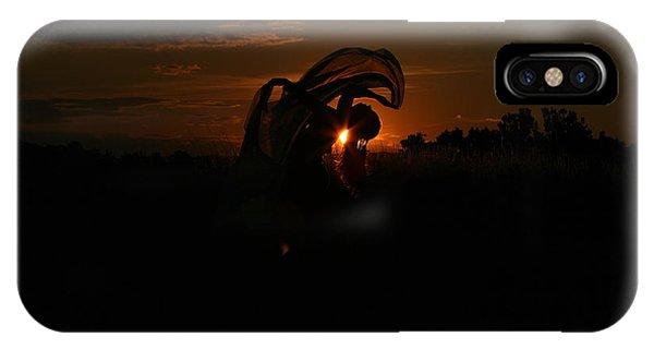 Silk Sunset IPhone Case
