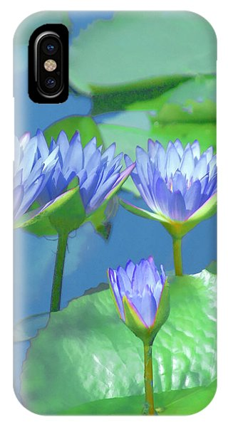 Silken Lilies IPhone Case