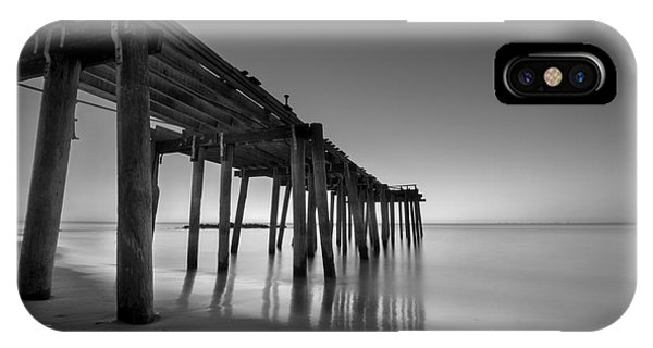 Michael iPhone Case - Silky Sunrise Black And White by Michael Ver Sprill