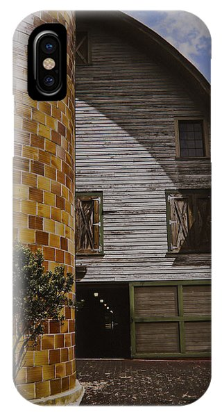 Silo And Horse Stable IPhone Case